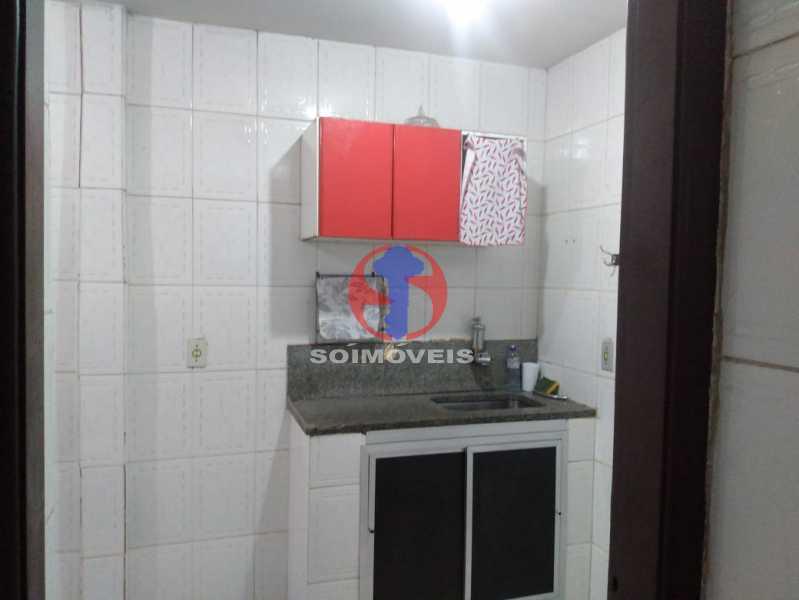 Cozinha - Apartamento 1 quarto à venda São Cristóvão, Rio de Janeiro - R$ 160.000 - TJAP10308 - 12