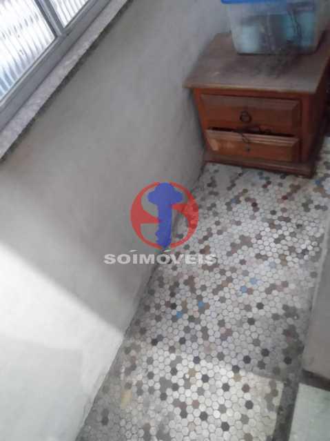 Varanda - Apartamento 1 quarto à venda São Cristóvão, Rio de Janeiro - R$ 160.000 - TJAP10308 - 16