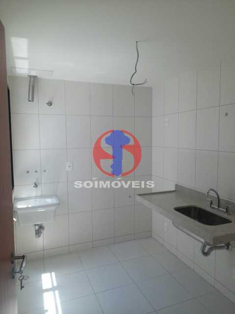 cozinha com area - Apartamento 1 quarto à venda Maracanã, Rio de Janeiro - R$ 460.000 - TJAP10309 - 15