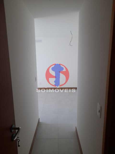 entrada - Apartamento 1 quarto à venda Maracanã, Rio de Janeiro - R$ 460.000 - TJAP10309 - 11