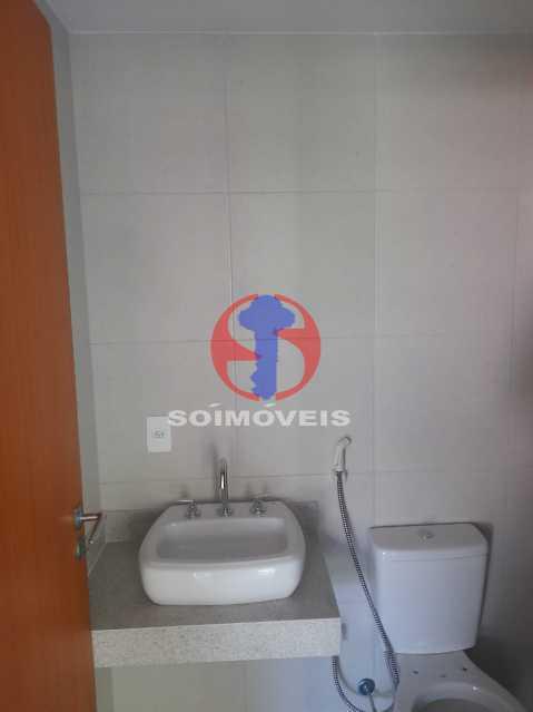 banheiro suite - Apartamento 1 quarto à venda Maracanã, Rio de Janeiro - R$ 460.000 - TJAP10309 - 16