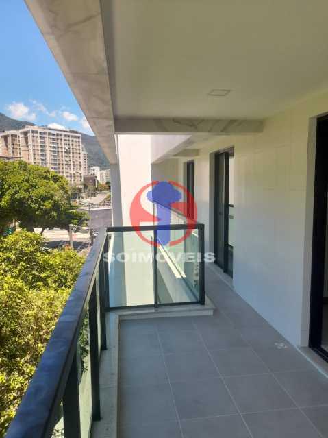 VARANDÃO - Apartamento 2 quartos à venda Maracanã, Rio de Janeiro - R$ 700.000 - TJAP21389 - 5