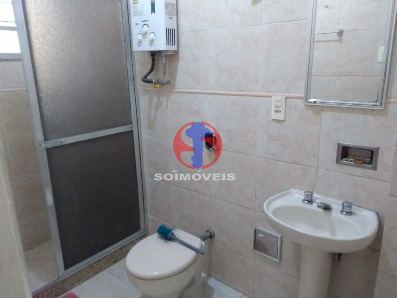 BANHEIRO SOCIAL - Apartamento 1 quarto à venda Tijuca, Rio de Janeiro - R$ 330.000 - TJAP10311 - 9