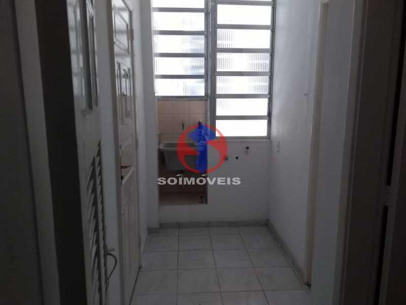 AREA SERCIÇO - Apartamento 1 quarto à venda Tijuca, Rio de Janeiro - R$ 330.000 - TJAP10311 - 15