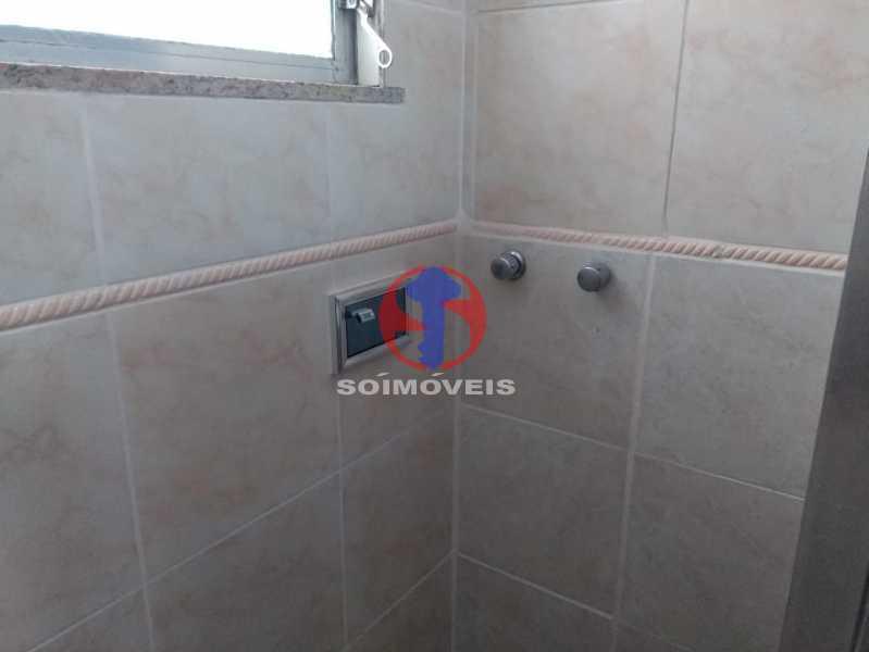 BANHEIRO SERVIÇO - Apartamento 1 quarto à venda Tijuca, Rio de Janeiro - R$ 330.000 - TJAP10311 - 16