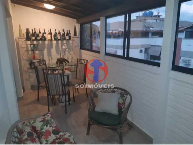 19 - Cobertura 3 quartos à venda Tijuca, Rio de Janeiro - R$ 830.000 - TJCO30050 - 16