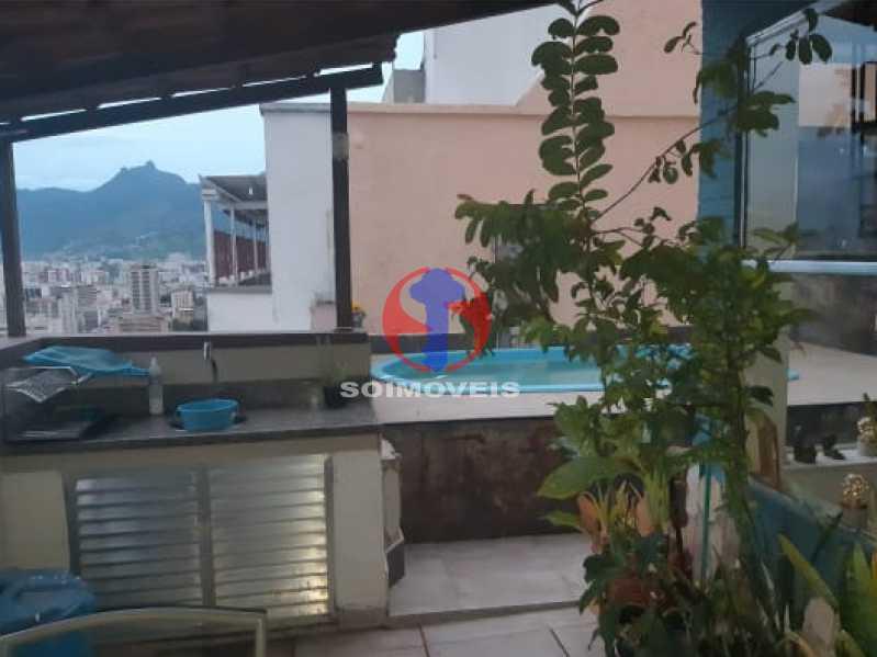 20 - Cobertura 3 quartos à venda Tijuca, Rio de Janeiro - R$ 830.000 - TJCO30050 - 20
