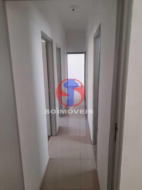 COREDOR DO APARTAMENTO - Apartamento 3 quartos à venda Andaraí, Rio de Janeiro - R$ 325.000 - TJAP30760 - 5