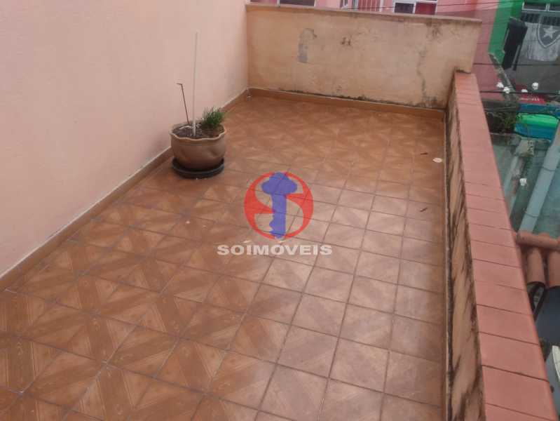 Terraço - Casa de Vila 2 quartos à venda Andaraí, Rio de Janeiro - R$ 270.000 - TJCV20100 - 22