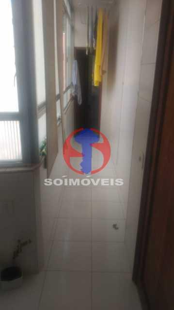 Area - Cobertura 4 quartos à venda Tijuca, Rio de Janeiro - R$ 1.450.000 - TJCO40017 - 18