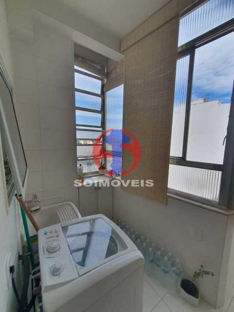 Area - Cobertura 4 quartos à venda Tijuca, Rio de Janeiro - R$ 1.450.000 - TJCO40017 - 19