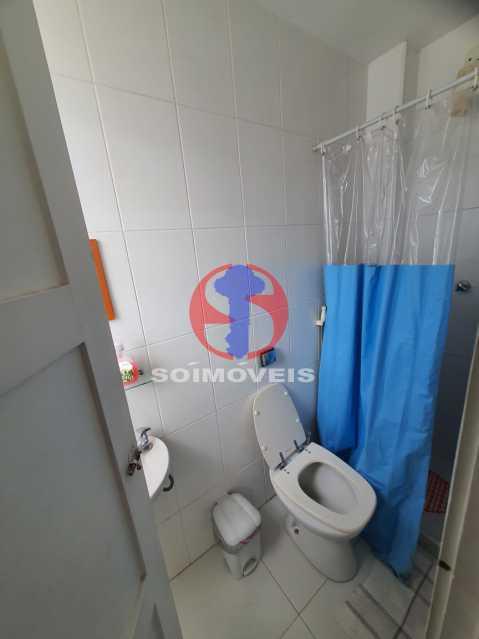 Banheiro dependencia. - Cobertura 4 quartos à venda Tijuca, Rio de Janeiro - R$ 1.450.000 - TJCO40017 - 21