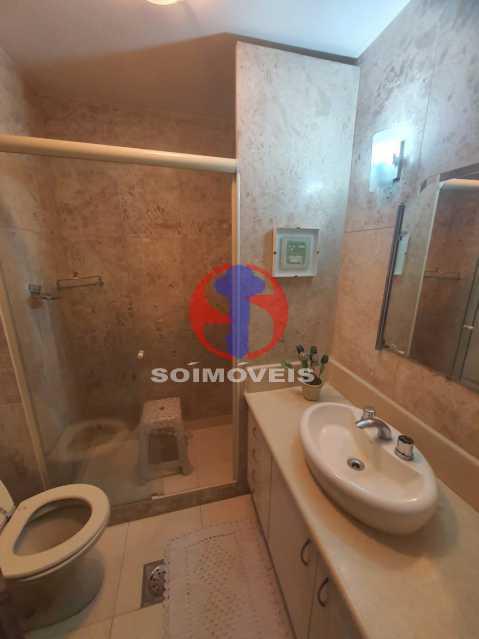 Banheiro social - Cobertura 4 quartos à venda Tijuca, Rio de Janeiro - R$ 1.450.000 - TJCO40017 - 15