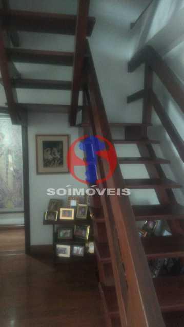 Escada. - Cobertura 4 quartos à venda Tijuca, Rio de Janeiro - R$ 1.450.000 - TJCO40017 - 4