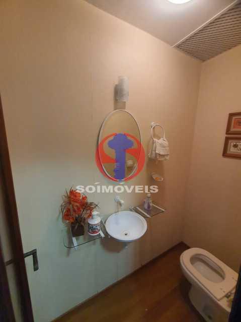 Lavabo. - Cobertura 4 quartos à venda Tijuca, Rio de Janeiro - R$ 1.450.000 - TJCO40017 - 7