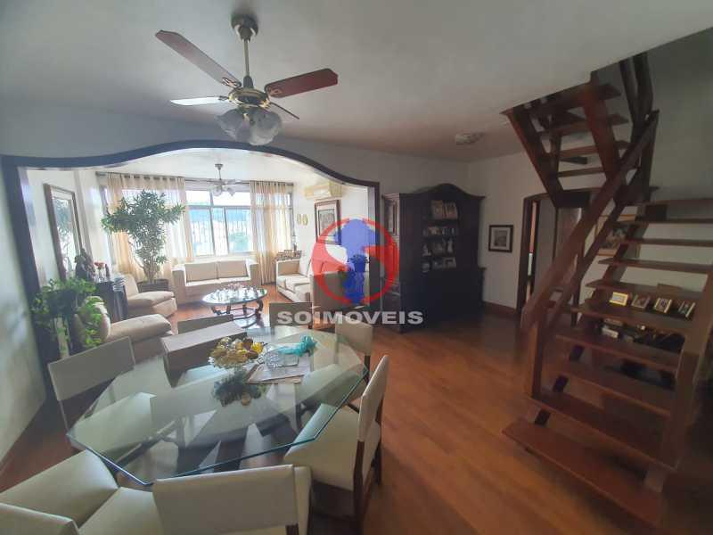 Sala - Cobertura 4 quartos à venda Tijuca, Rio de Janeiro - R$ 1.450.000 - TJCO40017 - 1