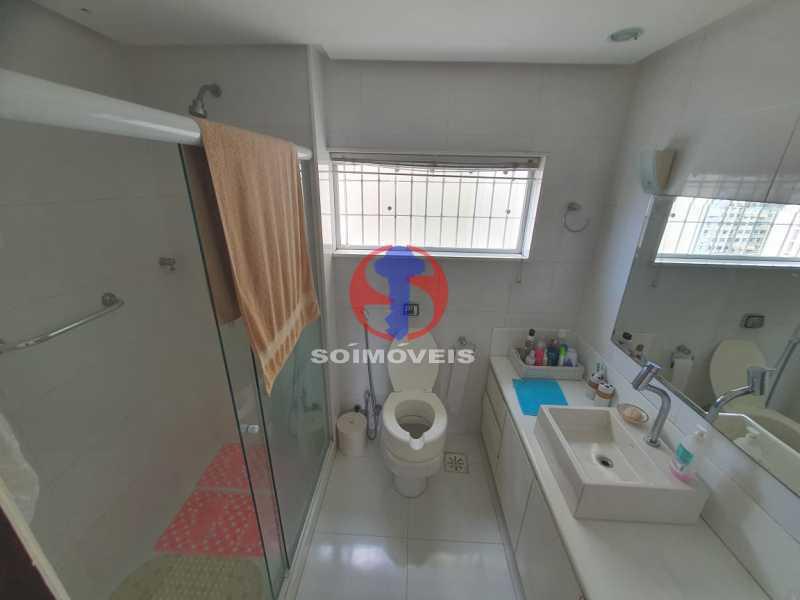 Banheiro suíte - Cobertura 4 quartos à venda Tijuca, Rio de Janeiro - R$ 1.450.000 - TJCO40017 - 12