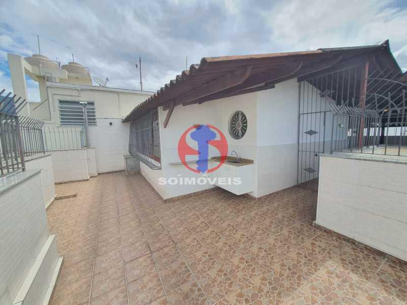Terraço - Cobertura 4 quartos à venda Tijuca, Rio de Janeiro - R$ 1.450.000 - TJCO40017 - 28