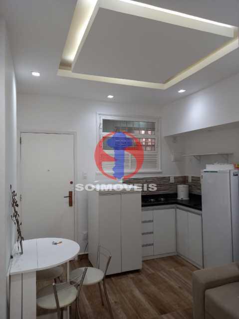 SALA - Apartamento 1 quarto à venda Copacabana, Rio de Janeiro - R$ 445.000 - TJAP10312 - 1