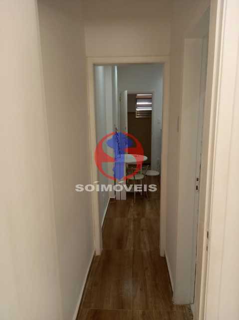 CORREDOR - Apartamento 1 quarto à venda Copacabana, Rio de Janeiro - R$ 445.000 - TJAP10312 - 3