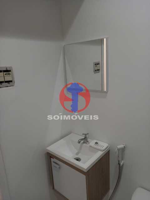 PIA BANHEIRO - Apartamento 1 quarto à venda Copacabana, Rio de Janeiro - R$ 445.000 - TJAP10312 - 12