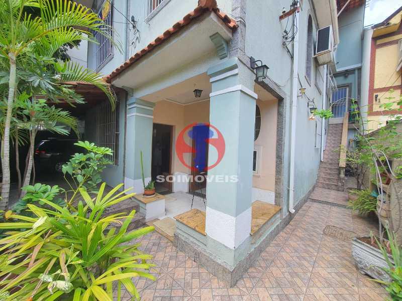 FACHADA - Casa 8 quartos à venda Maracanã, Rio de Janeiro - R$ 1.500.000 - TJCA80002 - 1