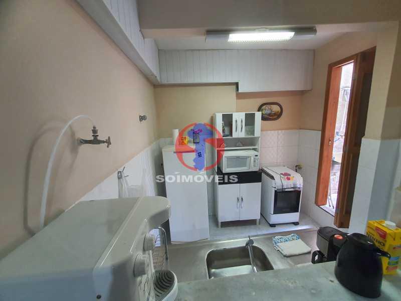 COZINHA 1 - Casa 8 quartos à venda Maracanã, Rio de Janeiro - R$ 1.500.000 - TJCA80002 - 12