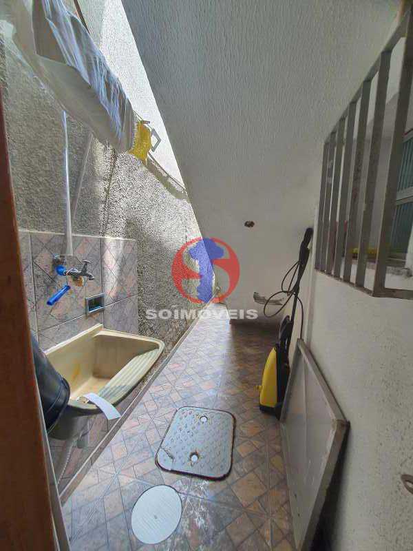 ÁREA DE SERVIÇO  - Casa 8 quartos à venda Maracanã, Rio de Janeiro - R$ 1.500.000 - TJCA80002 - 14