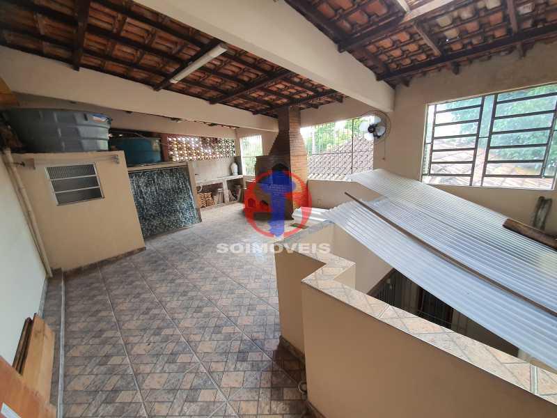 TERRAÇO - Casa 8 quartos à venda Maracanã, Rio de Janeiro - R$ 1.500.000 - TJCA80002 - 27