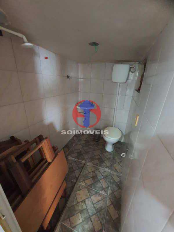 BANHEIRO TERRAÇO - Casa 8 quartos à venda Maracanã, Rio de Janeiro - R$ 1.500.000 - TJCA80002 - 29