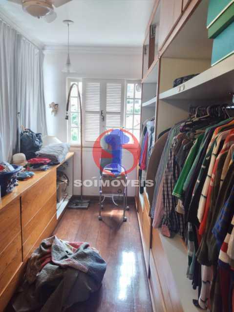 Closet - Casa 5 quartos à venda Tijuca, Rio de Janeiro - R$ 2.800.000 - TJCA50020 - 12