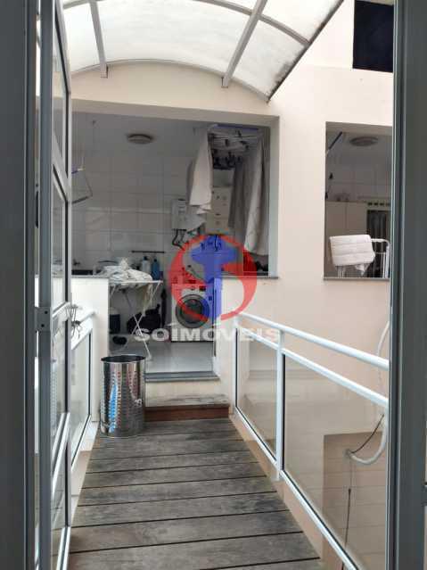 Lavanderia - Casa 5 quartos à venda Tijuca, Rio de Janeiro - R$ 2.800.000 - TJCA50020 - 17