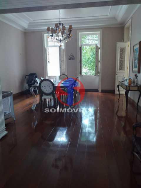 Sala de Estar - Casa 5 quartos à venda Tijuca, Rio de Janeiro - R$ 2.800.000 - TJCA50020 - 4