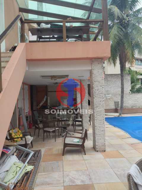Espaço Gurmet - Casa 5 quartos à venda Tijuca, Rio de Janeiro - R$ 2.800.000 - TJCA50020 - 22