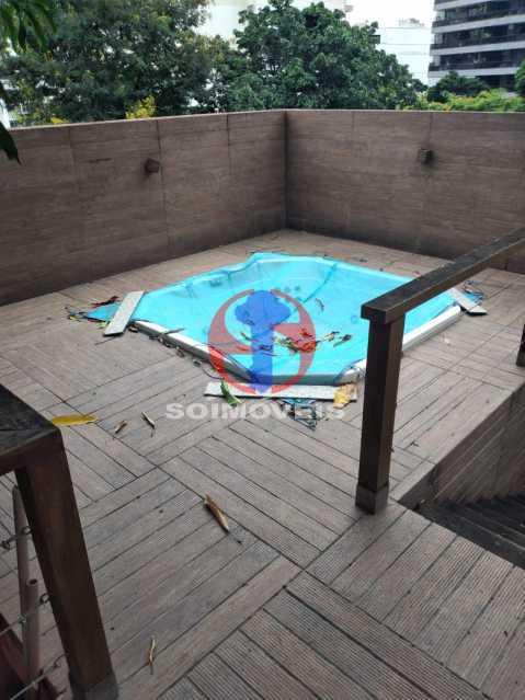 Banheira furô - Casa 5 quartos à venda Tijuca, Rio de Janeiro - R$ 2.800.000 - TJCA50020 - 25