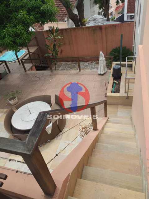 Quintal - Casa 5 quartos à venda Tijuca, Rio de Janeiro - R$ 2.800.000 - TJCA50020 - 23