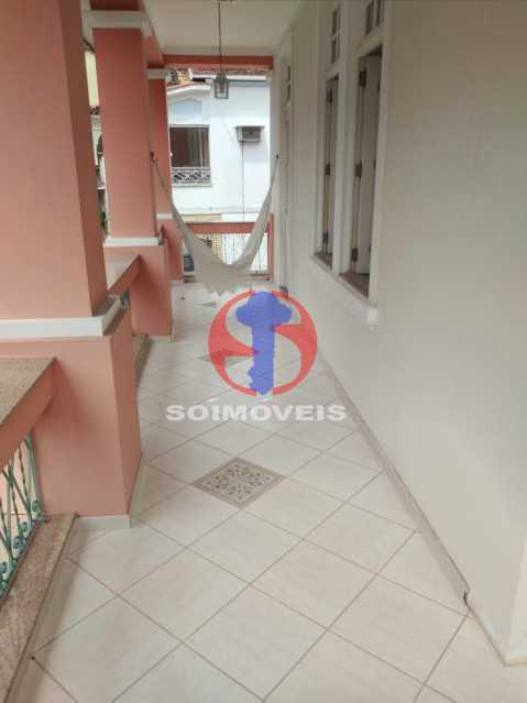 Varanda - Casa 5 quartos à venda Tijuca, Rio de Janeiro - R$ 2.800.000 - TJCA50020 - 29