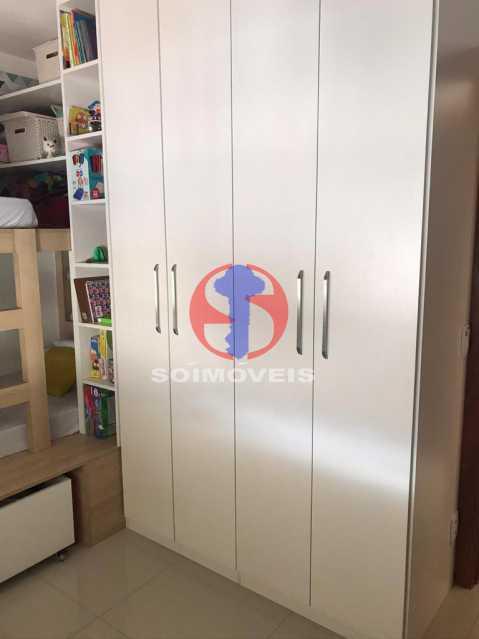 QUARTO - Apartamento 2 quartos à venda Maracanã, Rio de Janeiro - R$ 740.000 - TJAP21414 - 4