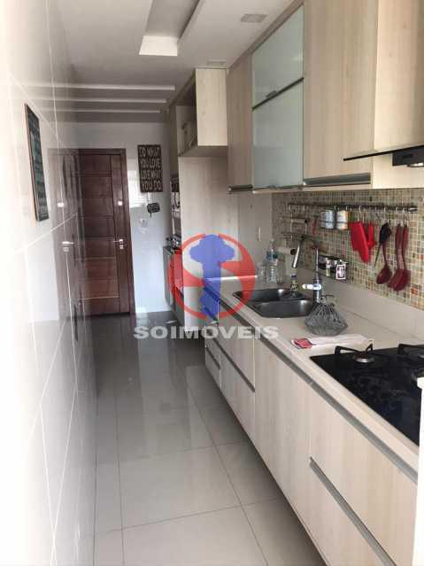 COZINHA - Apartamento 2 quartos à venda Maracanã, Rio de Janeiro - R$ 740.000 - TJAP21414 - 13