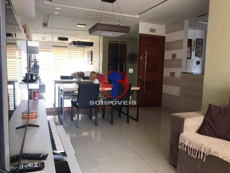 SALA - Apartamento 2 quartos à venda Maracanã, Rio de Janeiro - R$ 740.000 - TJAP21414 - 16