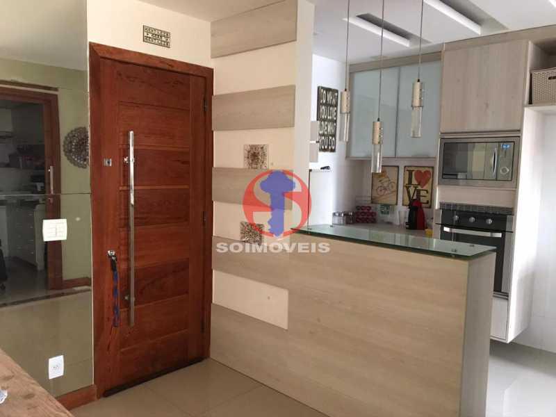 ENTRADA DO APARTAMENTO - Apartamento 2 quartos à venda Maracanã, Rio de Janeiro - R$ 740.000 - TJAP21414 - 21