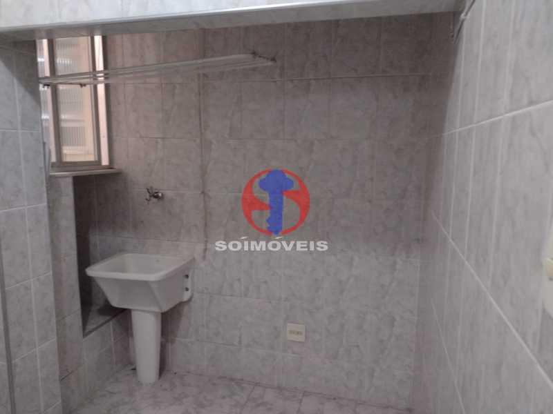 ÁREA DE SERVIÇO - Apartamento 1 quarto à venda Tijuca, Rio de Janeiro - R$ 300.000 - TJAP10315 - 1