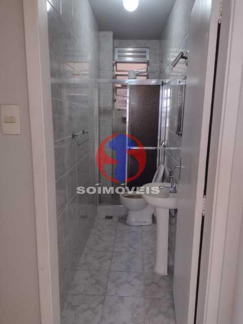 BANHEIRO - Apartamento 1 quarto à venda Tijuca, Rio de Janeiro - R$ 300.000 - TJAP10315 - 11
