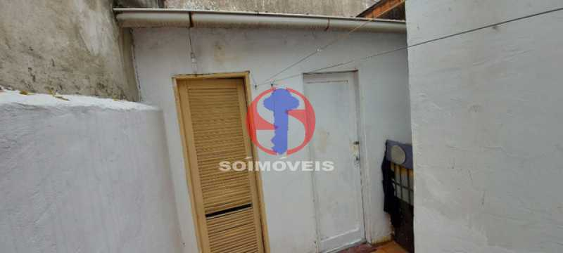 DEPENDÊNCIA EXTERNA  - Casa de Vila 3 quartos à venda Méier, Rio de Janeiro - R$ 480.000 - TJCV30075 - 18