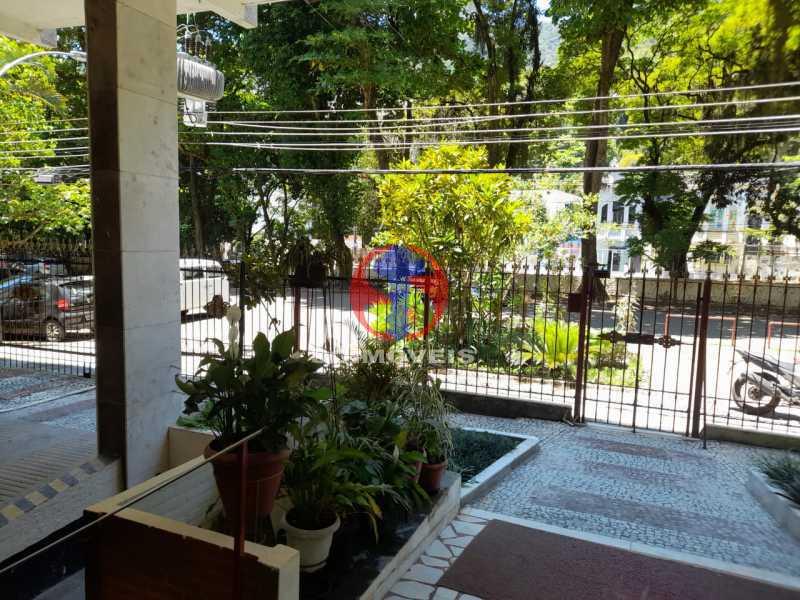 portaria e entrada - Apartamento 1 quarto à venda Tijuca, Rio de Janeiro - R$ 260.000 - TJAP10316 - 1