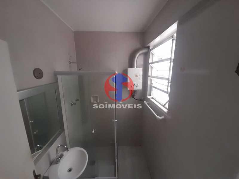 banheiro social - Apartamento 1 quarto à venda Tijuca, Rio de Janeiro - R$ 260.000 - TJAP10316 - 7