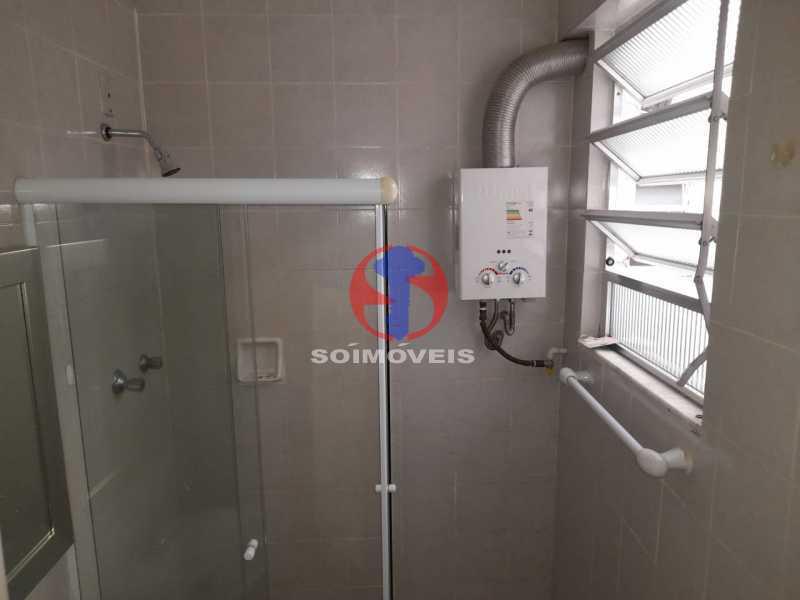 banheiro social - Apartamento 1 quarto à venda Tijuca, Rio de Janeiro - R$ 260.000 - TJAP10316 - 17