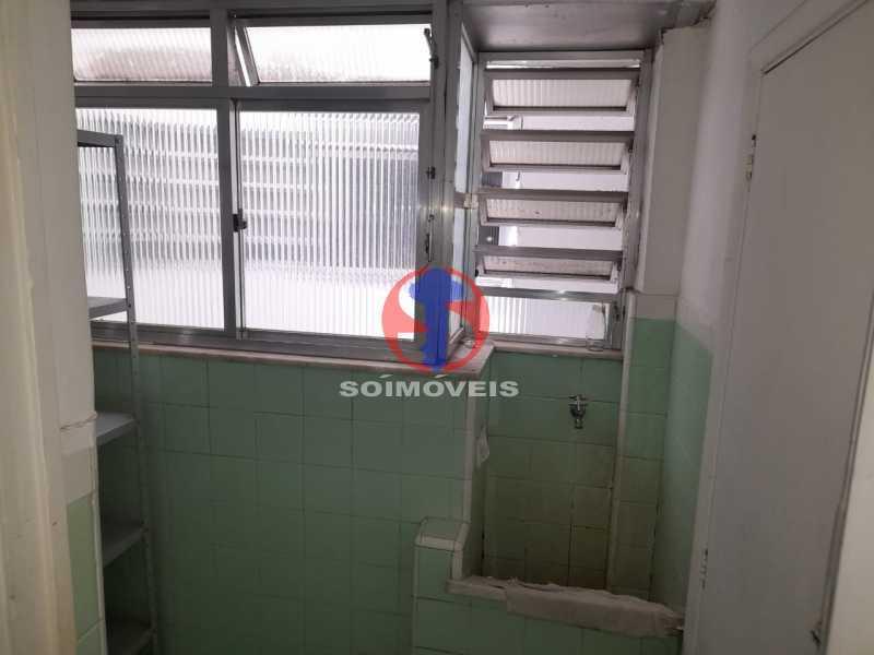 área de serviço - Apartamento 1 quarto à venda Tijuca, Rio de Janeiro - R$ 260.000 - TJAP10316 - 22