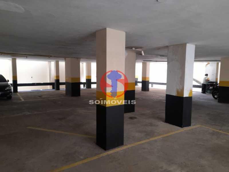 garagem - Apartamento 1 quarto à venda Tijuca, Rio de Janeiro - R$ 260.000 - TJAP10316 - 26