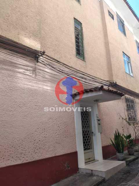 Entrada do prédio - Apartamento 2 quartos à venda Lins de Vasconcelos, Rio de Janeiro - R$ 300.000 - TJAP21419 - 1